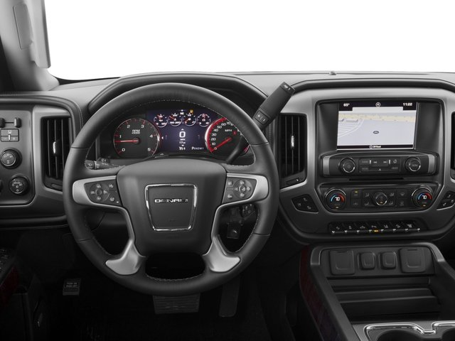 2016 GMC Sierra 2500HD Prices and Values Crew Cab Denali 2WD driver's dashboard