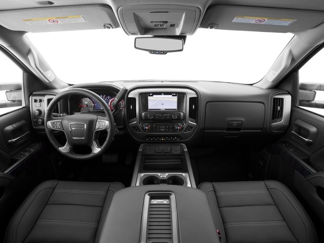2016 GMC Sierra 2500HD Prices and Values Crew Cab Denali 2WD full dashboard