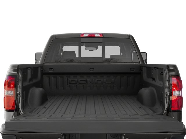 2016 GMC Sierra 2500HD Prices and Values Crew Cab Denali 2WD open trunk