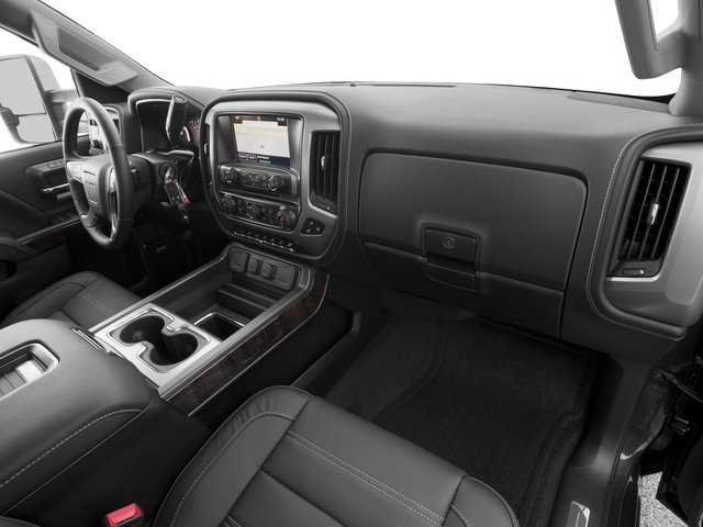 2016 GMC Sierra 2500HD Prices and Values Crew Cab Denali 2WD passenger's dashboard