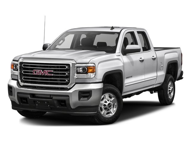 2016 GMC Sierra 2500HD Prices and Values Extended Cab SLE 4WD side front view