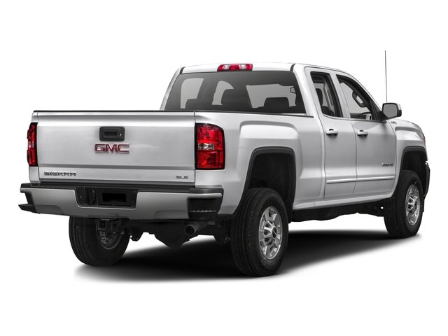 2016 GMC Sierra 2500HD Prices and Values Extended Cab SLE 4WD side rear view