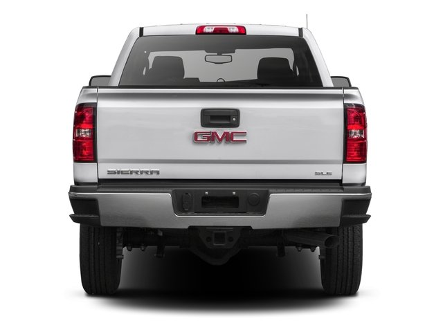 2016 GMC Sierra 2500HD Prices and Values Extended Cab SLE 4WD rear view