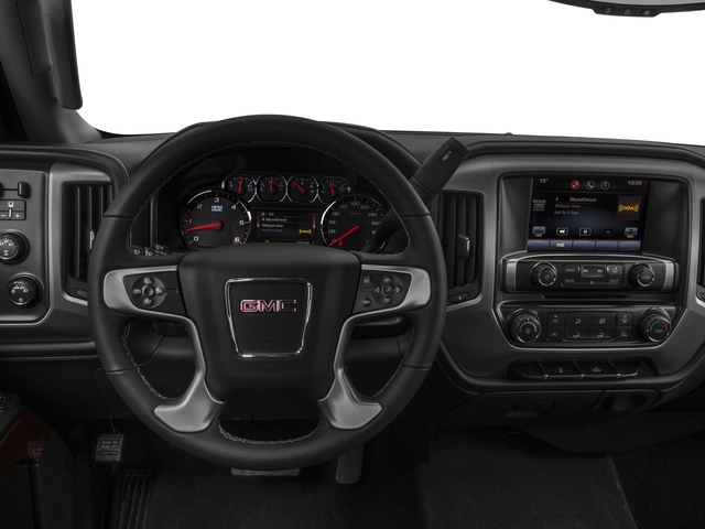 2016 GMC Sierra 2500HD Prices and Values Extended Cab SLE 4WD driver's dashboard