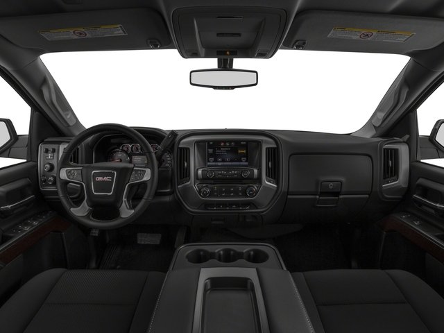 2016 GMC Sierra 2500HD Prices and Values Extended Cab SLE 4WD full dashboard