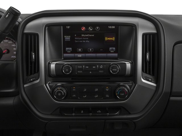 2016 GMC Sierra 2500HD Prices and Values Extended Cab SLE 4WD stereo system