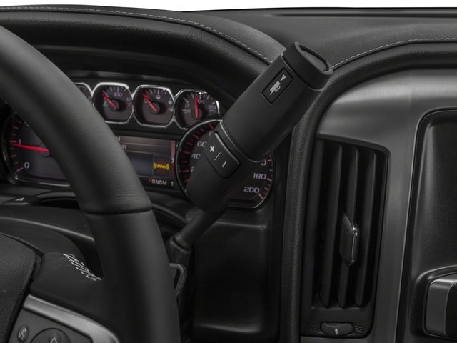 2016 GMC Sierra 2500HD Prices and Values Extended Cab SLE 4WD center console