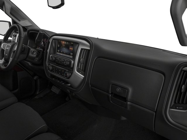 2016 GMC Sierra 2500HD Prices and Values Extended Cab SLE 4WD passenger's dashboard
