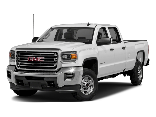 2016 GMC Sierra 2500HD Pictures Sierra 2500HD Crew Cab 4WD photos side front view