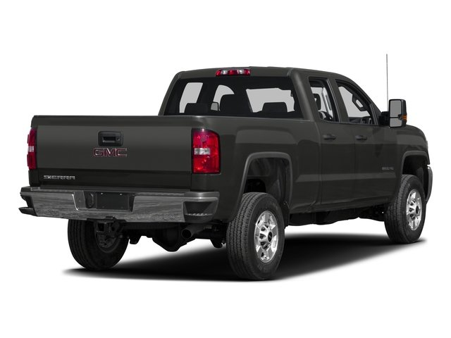 2016 GMC Sierra 2500HD Pictures Sierra 2500HD Extended Cab 4WD photos side rear view