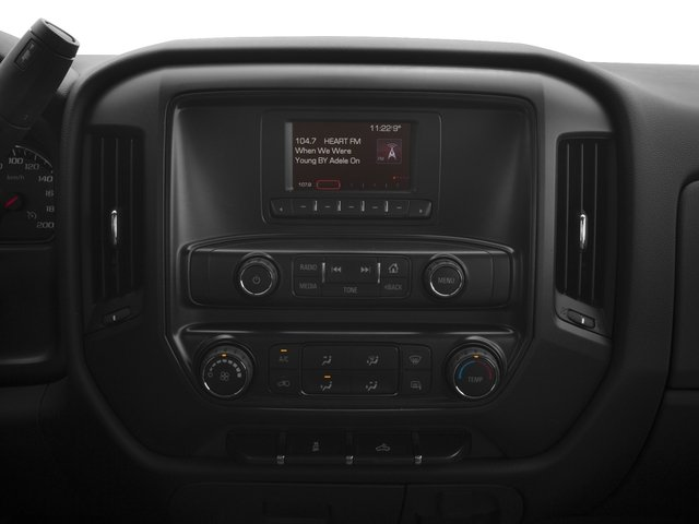 2016 GMC Sierra 2500HD Pictures Sierra 2500HD Extended Cab 4WD photos stereo system
