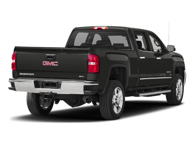 2016 GMC Sierra 2500HD Prices and Values Crew Cab SLT 2WD side rear view