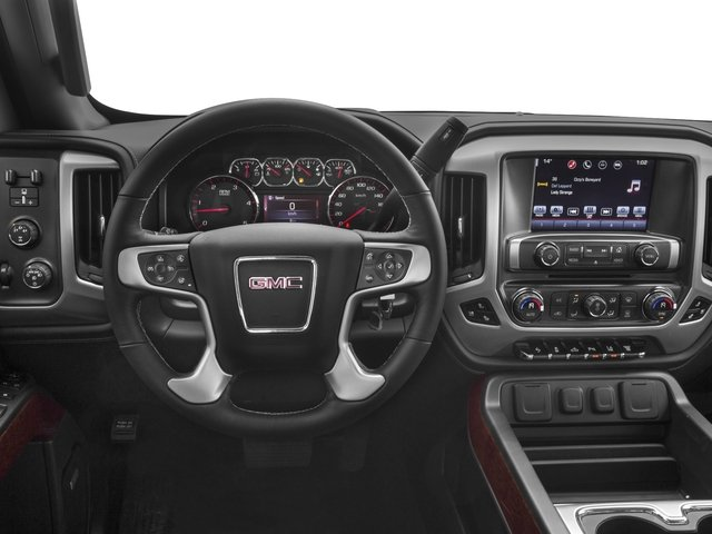 2016 GMC Sierra 2500HD Prices and Values Crew Cab SLT 2WD driver's dashboard