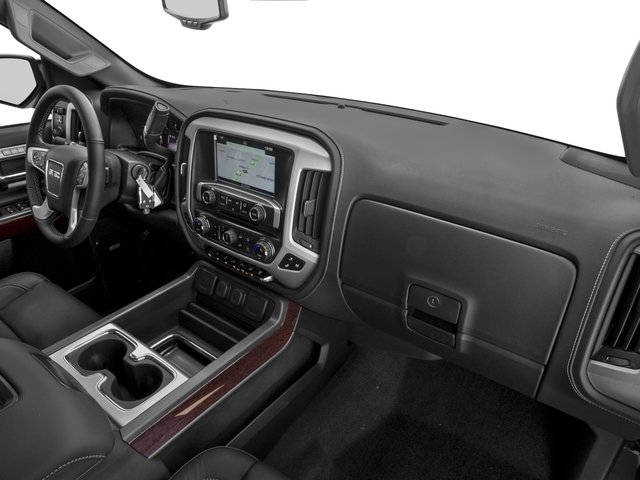 2016 GMC Sierra 2500HD Prices and Values Crew Cab SLT 2WD passenger's dashboard