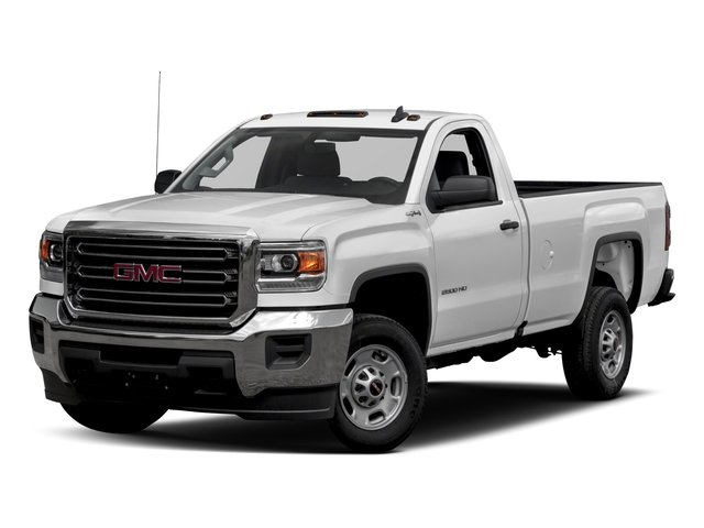 2016 GMC Sierra 2500HD Pictures Sierra 2500HD Regular Cab 4WD photos side front view