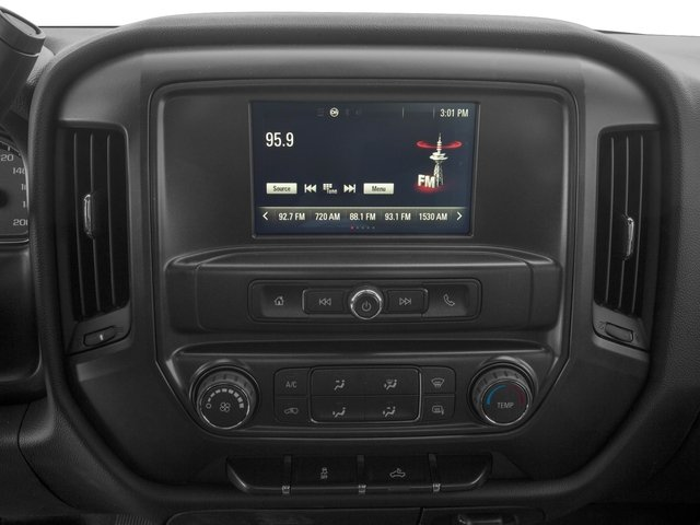 2016 GMC Sierra 2500HD Pictures Sierra 2500HD Regular Cab 4WD photos stereo system