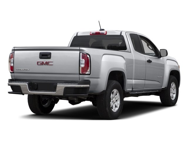 2016 GMC Canyon Prices and Values Extended Cab 2WD side rear view