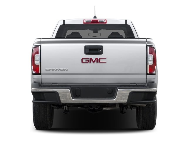 2016 GMC Canyon Prices and Values Extended Cab 2WD rear view