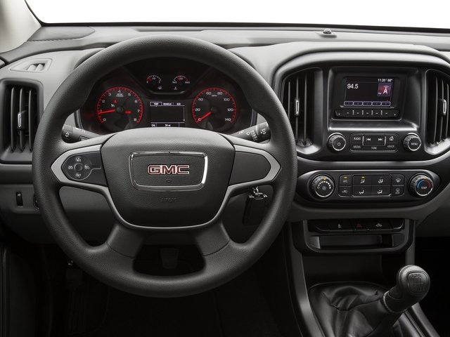 2016 GMC Canyon Prices and Values Extended Cab 2WD driver's dashboard