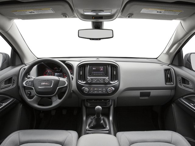 2016 GMC Canyon Prices and Values Extended Cab 2WD full dashboard