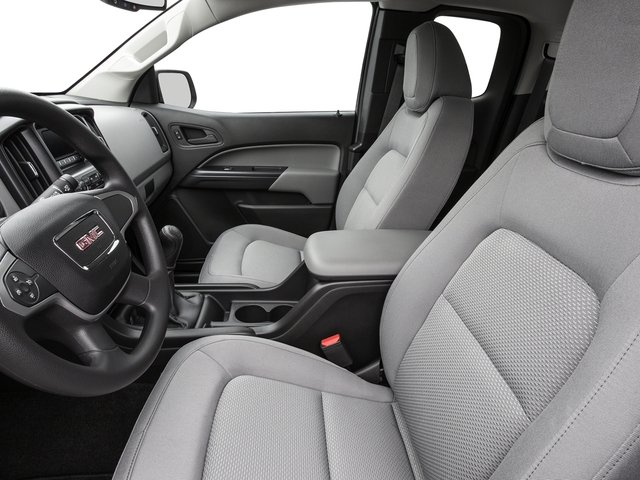 2016 GMC Canyon Prices and Values Extended Cab 2WD front seat interior