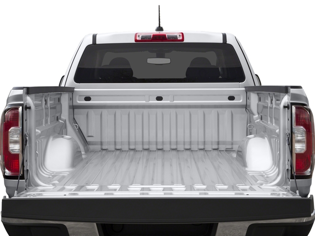 2016 GMC Canyon Prices and Values Extended Cab 2WD open trunk