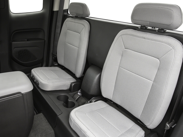 2016 GMC Canyon Prices and Values Extended Cab 2WD backseat interior