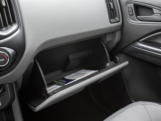 2016 GMC Canyon Prices and Values Extended Cab 2WD glove box