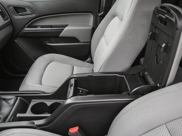 2016 GMC Canyon Prices and Values Extended Cab 2WD center storage console