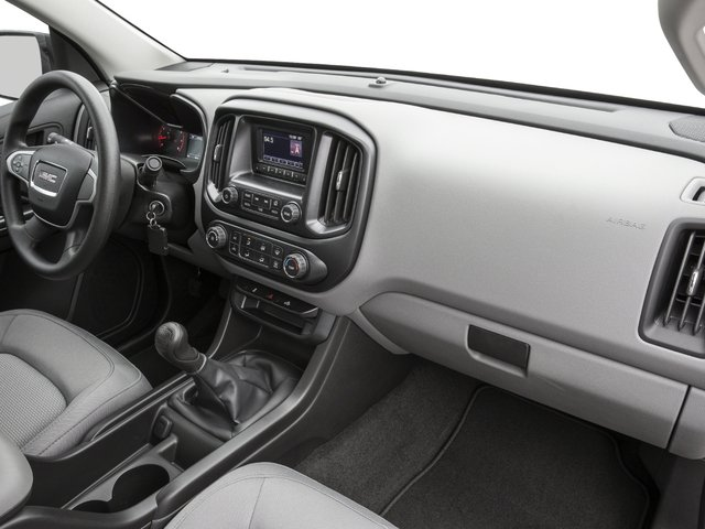 2016 GMC Canyon Prices and Values Extended Cab 2WD passenger's dashboard
