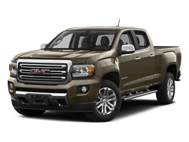 2016 GMC Canyon Pictures Canyon Crew Cab SLT 4WD photos side front view