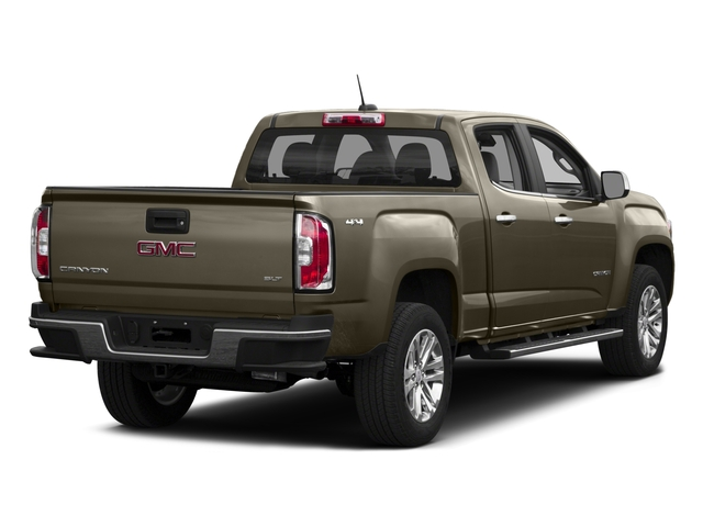 2016 GMC Canyon Pictures Canyon Crew Cab SLT 4WD photos side rear view