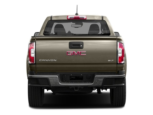 2016 GMC Canyon Pictures Canyon Crew Cab SLT 4WD photos rear view
