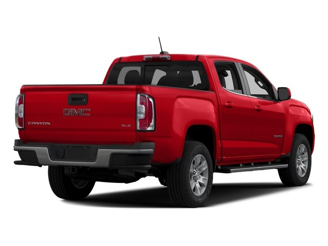 2016 GMC Canyon Pictures Canyon Crew Cab SLE 2WD photos side rear view