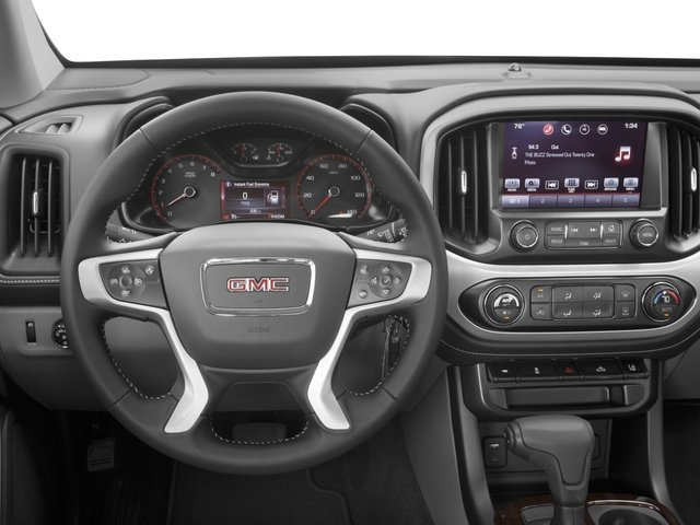 2016 GMC Canyon Prices and Values Crew Cab SLE 2WD driver's dashboard