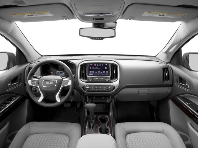 2016 GMC Canyon Prices and Values Crew Cab SLE 2WD full dashboard