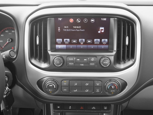 2016 GMC Canyon Prices and Values Crew Cab SLE 2WD stereo system