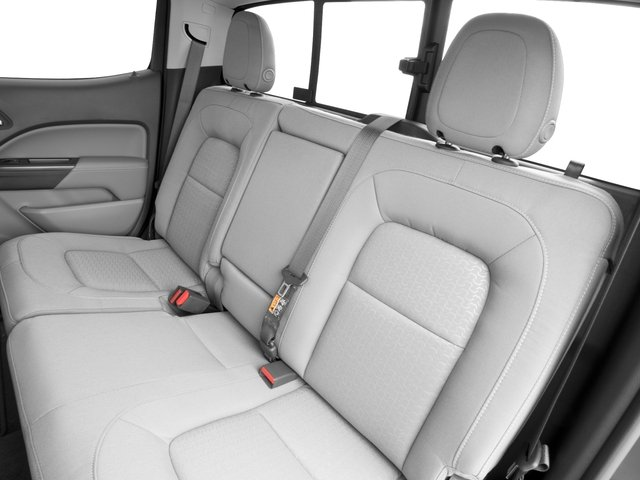 2016 GMC Canyon Prices and Values Crew Cab SLE 2WD backseat interior