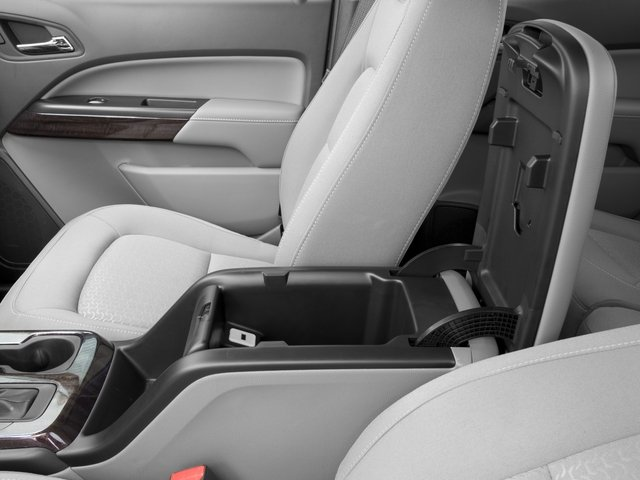 2016 GMC Canyon Prices and Values Crew Cab SLE 2WD center storage console