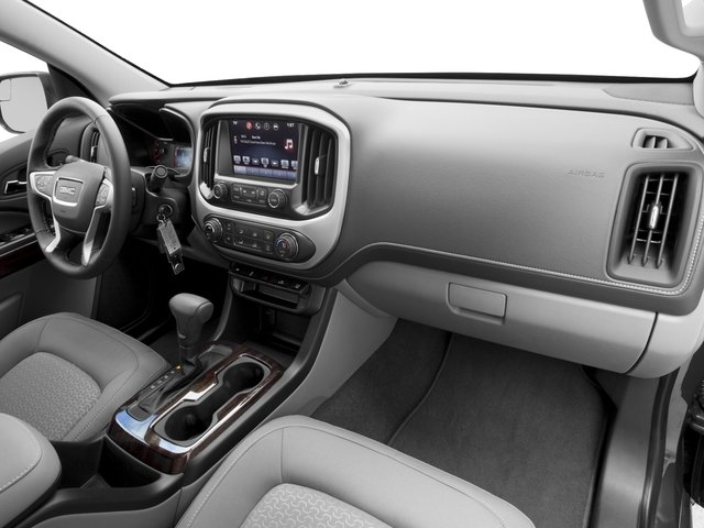 2016 GMC Canyon Prices and Values Crew Cab SLE 2WD passenger's dashboard