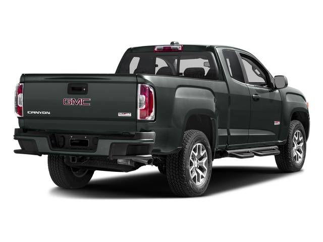2016 GMC Canyon Prices and Values Extended Cab SLT 4WD V6 side rear view