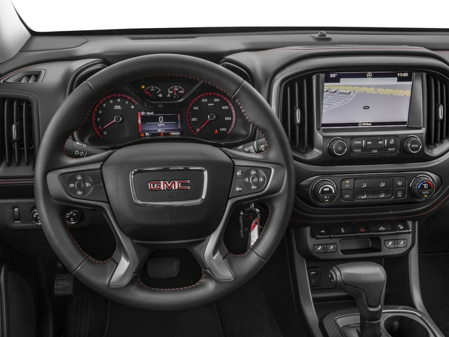 2016 GMC Canyon Prices and Values Extended Cab SLT 4WD V6 driver's dashboard