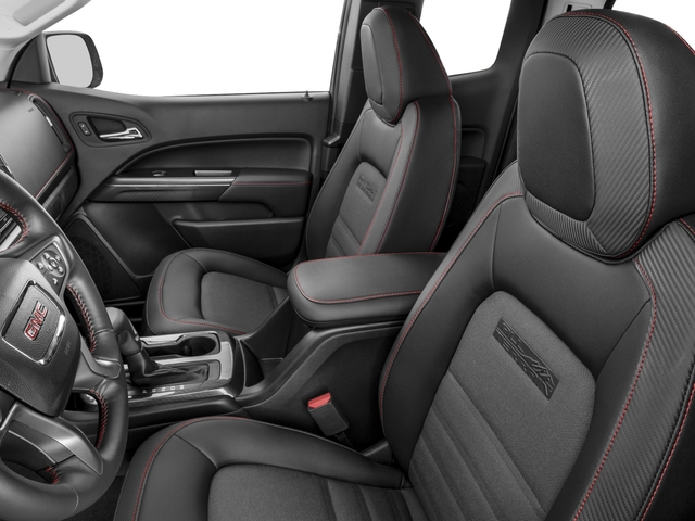2016 GMC Canyon Prices and Values Extended Cab SLT 4WD V6 front seat interior