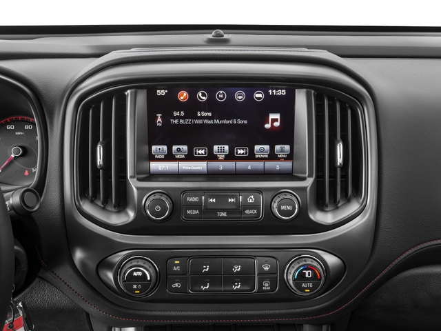 2016 GMC Canyon Prices and Values Extended Cab SLT 4WD V6 stereo system