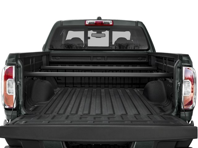2016 GMC Canyon Prices and Values Extended Cab SLT 4WD V6 open trunk