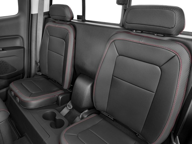 2016 GMC Canyon Prices and Values Extended Cab SLT 4WD V6 backseat interior