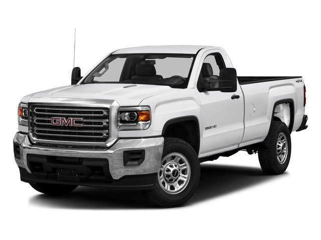 2016 GMC Sierra 3500HD Prices and Values Regular Cab 4WD side front view
