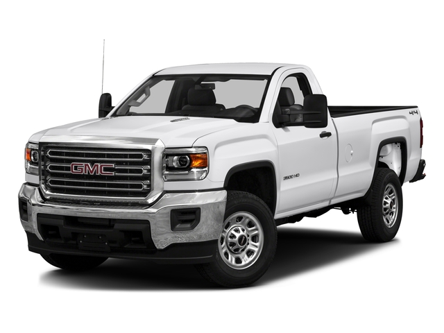2016 GMC Sierra 3500HD Pictures Sierra 3500HD Regular Cab 4WD photos side front view