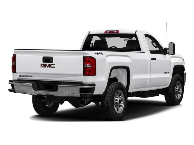2016 GMC Sierra 3500HD Prices and Values Regular Cab 4WD side rear view