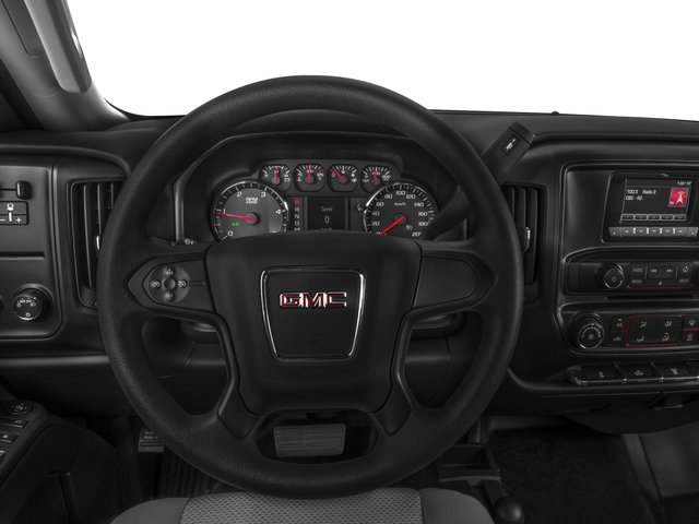2016 GMC Sierra 3500HD Pictures Sierra 3500HD Regular Cab 4WD photos driver's dashboard